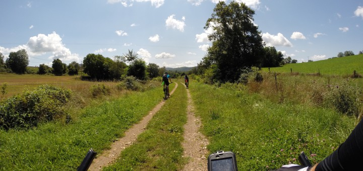 Etape 10 : Ancienne voie ferré