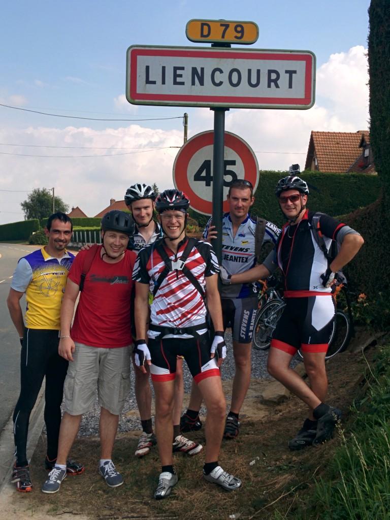 Photos arrivée à Liencourt