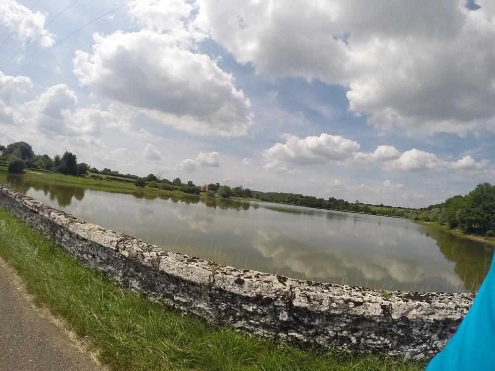 Etape 6:Pont au dessus d'un lac