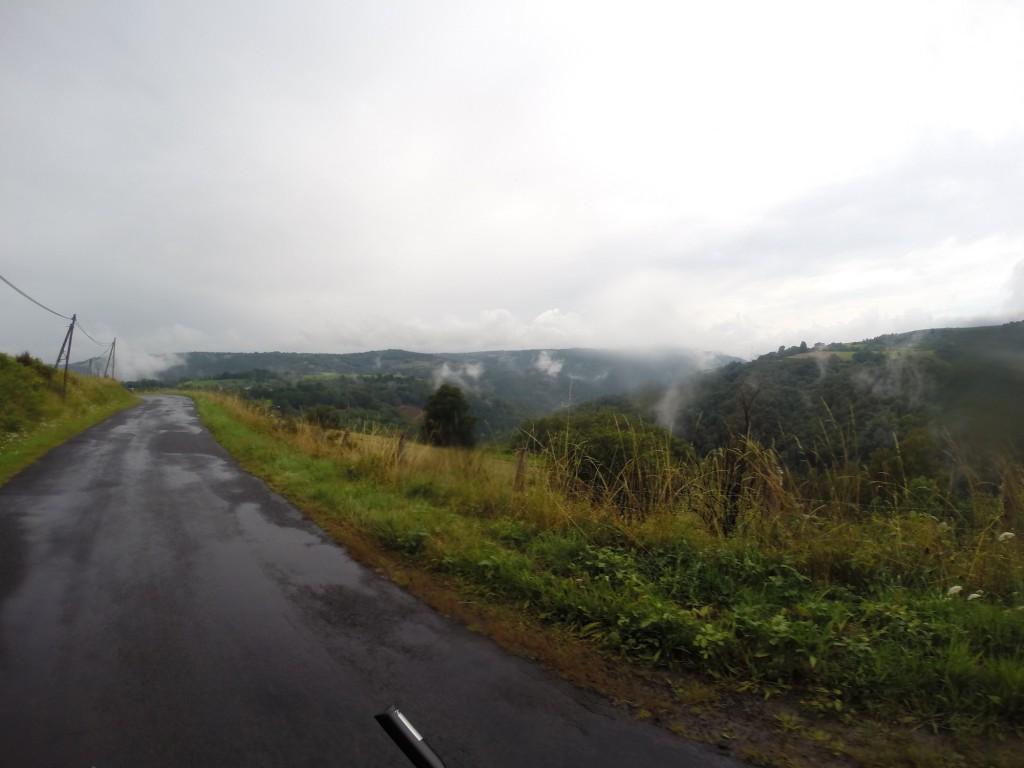 Etape 9 : Paysage matin pluie