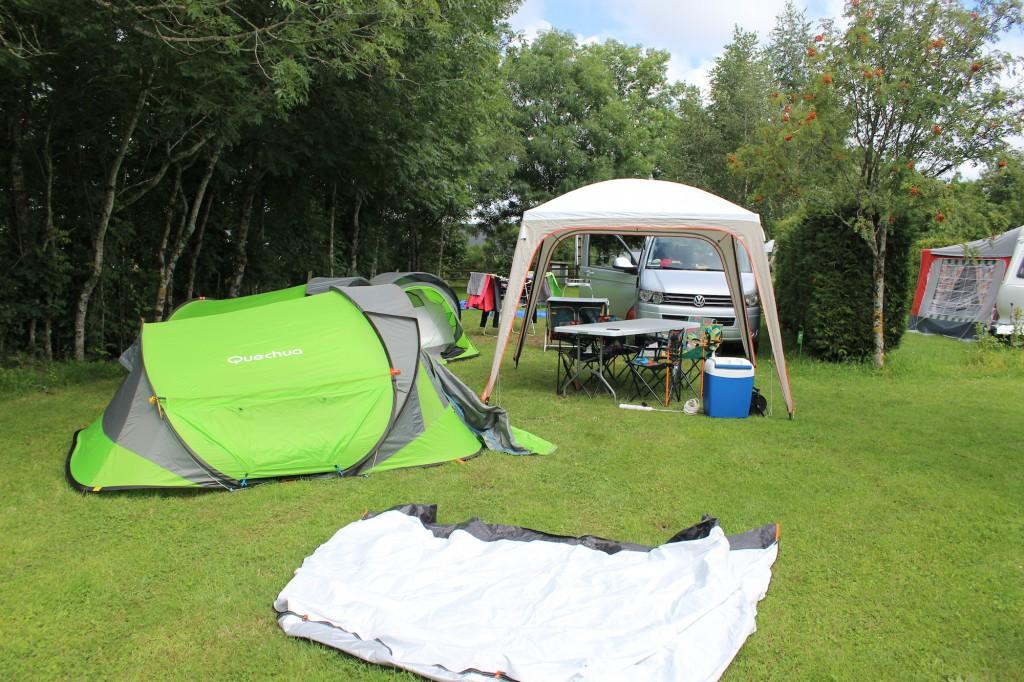 Etape 9 : Campement Laguiole