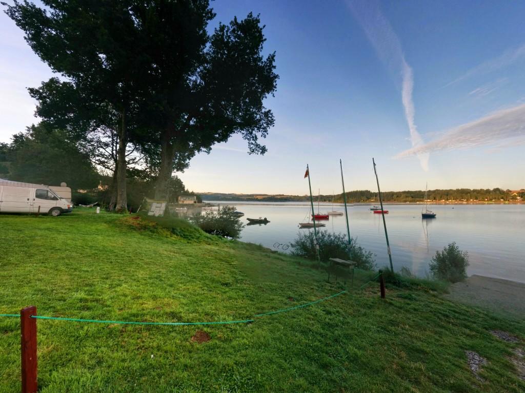 Etape 10 : Le camping, vue de notre emplacement